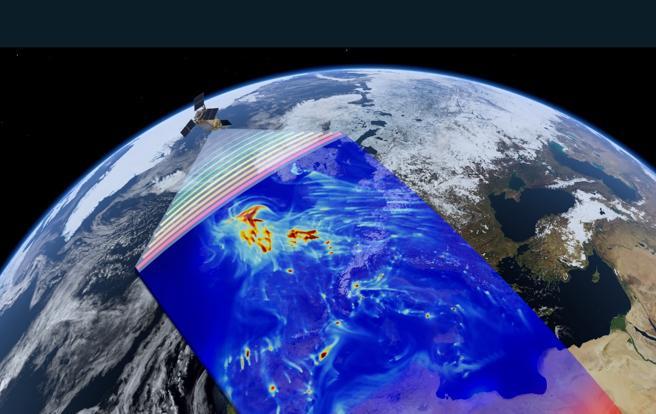 Simulación de la vigilancia por satélite del programa Copérnico
